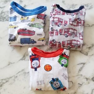 Lot of 3 Pajamas, Size 2T
